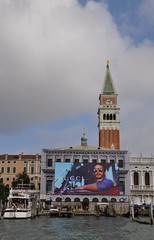 blue venice sky white man face sunglasses clouds pub san head gucci marco publicity venezia takenfromtheboat