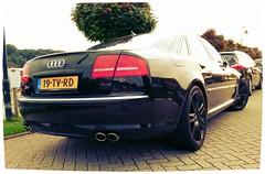 Audi S8 Blacked (MostlyCarPhoto's) Tags: black badass engine german audi limosine luxury v10 gallardo luxurious blacked s8 audis8 flickrandroidapp:filter=iguana