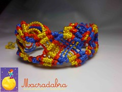 Brazalete Colombiano (Macradabra) Tags: colombia bracelet pulseras macram brazaletes macradabra