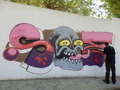 P9120702 (xbonie) Tags: muro real libertad graffiti la calle montana amor alien roots ciudad carlos paisaje sae spray graff ruidera mancha manzanares respeto homenaje carmona oner manza pichon pizarroso saeone pichoner