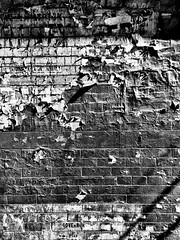 scag. (jdx.) Tags: nyc newyorkcity shadow urban blackandwhite newyork brick rot art monochrome mobile wall les architecture contrast shadows manhattan bricks lowereastside documentary highcontrast layers grayscale iphone orchardstreet mobilephotography jdx iphoneography