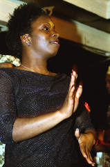 Gifty NaaDK from Ghana Etome with Sopie from Cte d'Ivoire Dancing at the Africa Centre London March 2001  077 (photographer695) Tags: gifty from ghana africa centre mar 2001 083 sophie dancing naadk etome with sopie cte divoire london march