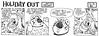 Holiday Out 797 (Michael Vance1) Tags: sf comics al artist satire alien humor jungle comicbook parody comicstrip sciencefiction cartoonist funnyanimals
