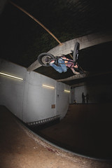 So stoked to be filming with this dude! (RyanMarshh) Tags: for bmx flash fisheye skatepark babes tables skateboards doncaster upton inverts
