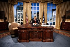 Terry Mynott as President Obama in C4's VIP