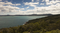 View towards Freycinet