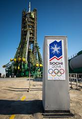 Expedition 38 Soyuz Launch Pad (NASA Johnson) Tags: olympics kazakhstan launchpad sochi baikonur sochi2014 baikonurcosmodrome soyuzlaunchpad soyuzrocket expedition38 expedition38preflight soyuztma11m