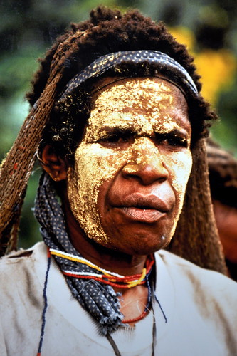 Western New Guinea - Baliem Valley - Dani Man - 9
