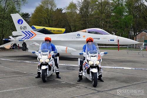 police belge avion