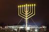 The National Menorah (jmasher) Tags: white house monument night dc washington candles 8th hanukkah menorah hanukkiah 8thnight