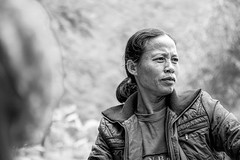 Tam Coc Rower (that mad hatter's teacup) Tags: street old trip travel portrait people urban blackandwhite woman art water beautiful lady canon photography raw vietnam hanoi tam coc iphoneography instagramapp