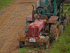 Rusty.. (Sujith Selvan) Tags: tractor rust transport vehicle hdr