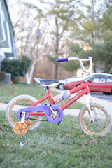 Child hood memories (afolabi_sanusi) Tags: grass childhood bicycle catchycolors colorful bokeh cut tricycle memories fresh calmneighborhood