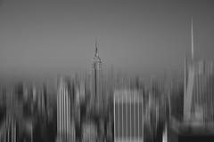 Vanish (Seth Benson) Tags: new york nyc white ny black building photoshop canon state empire cs5