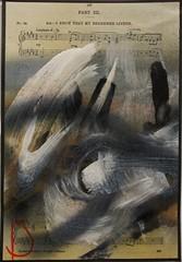 New score - Dec 2013 (Los Dave) Tags: abstract texture clouds ink landscape chalk movement paint space horizon canvas spraypaint calligraphy blizzard tone pcm markmaking losdave
