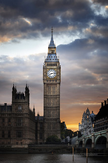 Abbaye de westminster - Big Ben London England