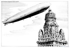 Montevideo Zeppelin início sécXX