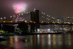 Happy New Year (grapfapan) Tags: newyorkcity usa fireworks brooklynbridge brooklynbridgepark