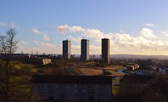 Drumchapel Linkwood Flats (Michelle O'Connell Photography) Tags: skyline glasgow highrise tenement towerblocks drumchapel linkwoodcrescent drumchapelglasgow kinfaunsdrive drumchapelflats ladyloanavenue drumchapellifesofar drumchapellinkwoodflats michelleoconnellphotography