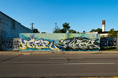 hamer ewok (ExcuseMySarcasm) Tags: streetart art graffiti michigan unitedstatesofamerica detroit ewok hamer guerrillaart soduh