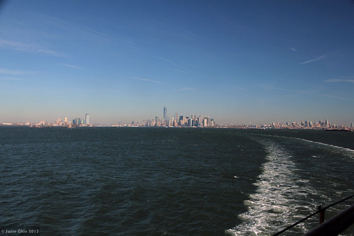 Jersey City, Lower Manhattan, Brooklyn (and Upper New York Bay)