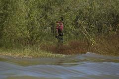 Border Patrol Riverine Unit Rescues Child Stranded on Rio Grande River Bank (CBP Photography) Tags: girl river boat child border safe bp stranded patrol riogrande rgv riverine cbp oam