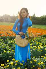 Vietnam traditional beauty (cuongvnd) Tags: red portrait people food plant flower tree cute nature beautiful beauty field smiling fashion standing season landscape outdoors clothing holding women asia khmer looking dress adult farm happiness vietnam growth harmony plantation land backgrounds bouquet farmer females southeast charming agriculture cheerful youngadult cultures scenics oneperson freshness ethnicity sidewaysglance elegance purity fashionable mekongriver aodai cutflowers toothysmile ruralscene greencolor tropicalclimate asianethnicity angiangprovince positiveemotion vietnameseethnicity ricecerealplant