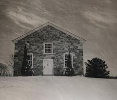 Stanbridge Ridge Stone Chapel (pegase1972) Tags: winter snow canada church quebec hiver qubec neige glise qc estrie easterntownships stanbridgeeast