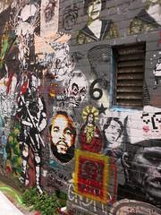 Blender Lane Stencils (wiredforlego) Tags: streetart graffiti stencil au australia melbourne mel urbanart cbd