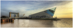The Deep & Hull Tidal Barrier [Explored] (bojangles_1953) Tags: city culture barrier hull tidal thedeep 2017
