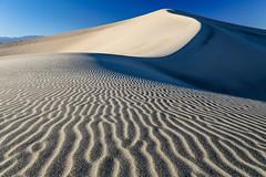 Mesquite Dunes (Jeremy Duguid) Tags: california park ca travel abstract west nature cali landscape death sand pattern desert patterns dunes dune parks national mesquite valley western 1000 pwlandscape