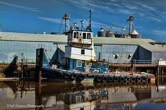 The tug American River HDR_002 (Walt Barnes) Tags: canon eos boat ship vessel calif tugboat petaluma tug hdr topaz americanriver workboat pushboat 60d canoneos60d topazadjust eos60d wdbones99
