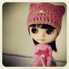 Andrea looking cute...