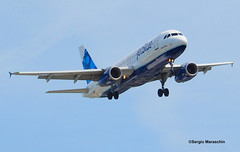 SRM570407145736 (photoman576097) Tags: blue tampa airplane flying aircraft air jet landing international airbus jb fl arrival approach carrier airliner jetplane airliners a320 jetliner jbu tpa a320200 a320232 ktpa n504jb sn1156