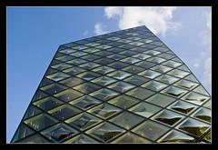 Prada building, Aoyama @Tokyo, Japan (brunombo) Tags: travel sky building glass japan tokyo pentax blu cielo aoyama tamron prada palazzo azzurro viaggio giappone vetri tamronaf18250mmf3563diiildasphericalifmacro justpentax