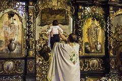Christening (Girl from Serbia, Belgrade) Tags: baby church belgrade orthodox baptising