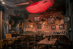 Steampunk Joben Bistro Pub Inspired by Jules Vernes Fictional Stories (interiordesign17) Tags: inspired bistro jules stories fictional steampunk joben vernes