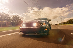 (o0Kumail0o) Tags: sun lensflare mustang gt must rolling rollingcars