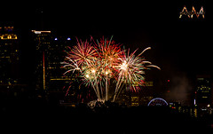 4th of July Fireworks (al marks photography) Tags: park atlanta centennial day fireworks 4th july independence