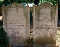 Rawlings / Gordon headstones