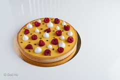 Tarte aux fruit de la passion et framboise (Gail Ho) Tags: homemade tarte framboise fruitdelapassion