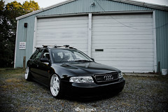 Brandon's B5 Avant (Connor Croak) Tags: wheel wagon euro low wheels royal b5 a4 audi whores avant stance monza camber autostrada airbags fitment monzas 3pc hellaflush rarewheels stanceworks canibeat stancenation airsociety royalstance cambergang camberglerz bodegalife