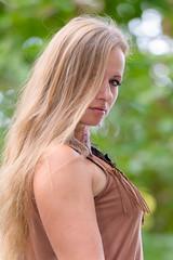 Jennifer 2 (xfoTOkex) Tags: portrait outdoor location woman girl brunette long hair brown face natural nikon d800