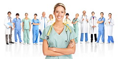 Healthcare (robertlausteelcaseinc) Tags: backgroundbluebusinesscareclinicclinicaldoctordoct nurse medicine doctor health healthcare hospital clinic woman business isolated job man occupation team worker background blue care clinical doctors happy healthy isolate medical person professional smile smiling specialist stethoscope surgeon surgical white work young workers canada
