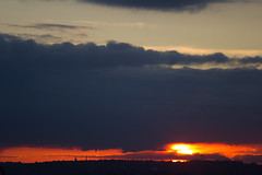 Threatening clouds gather (ArtGordon1) Tags: stormclouds clouds cloud sunset sunrays evening london england uk walthamstow davegordon davidgordon daveartgordon davidagordon daveagordon artgordon1 landscape