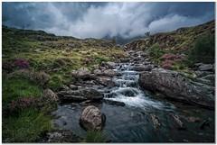 Idwall overflow (Hugh Stanton) Tags: rocks stream cloud mountain appickoftheweek heather