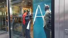 2016-10-19 - Fifth Avenue - Armani Exchange (zigwaffle) Tags: 2016 nyc newyorkcity manhattan timessquare rockefellercenter saintpatrickscathedral fifthavenue wretchedexcess centralpark