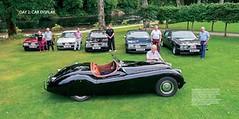 Teaser pages: car display (Pim Stouten) Tags: jaguar xj xj40 jag dunkeld book
