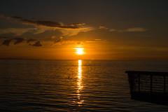 Silhoettes at Sunset (Infomastern) Tags: malm vstrahamnen cloud goodnightsun hav mnniska peopl sea silhouette siluett sky solnedgng sunset