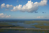 [--] (lucymagoo_images) Tags: sony rx100 louisiana aerial atchafalaya basin swamp highway sky clouds interstate10 landscape trucks freeway